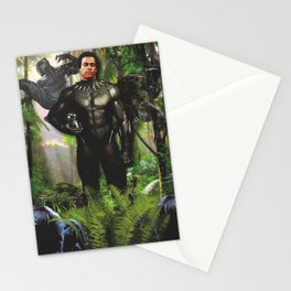 Huey Panther Newton Stationery Cards