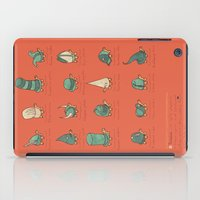 turtles iPad Cases featuring A Study of Turtles by Hector Mansilla