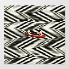 Illusionary Boat Ride Canvas Print