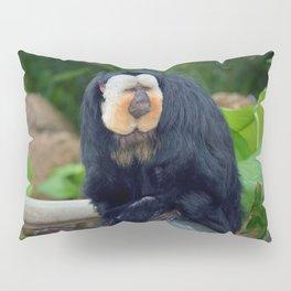White-Faced Saki Monkey Pillow Sham