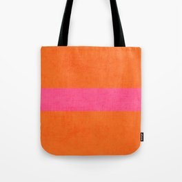 orange and hot pink classic Tote Bag