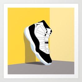 Air Jordan XI Illustration Art Print