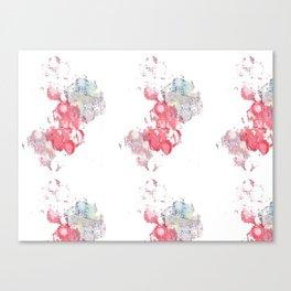 Cloud Stamp Canvas Print