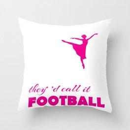 Ballet Dancer Gift for Ballerina  Product Throw Pillow