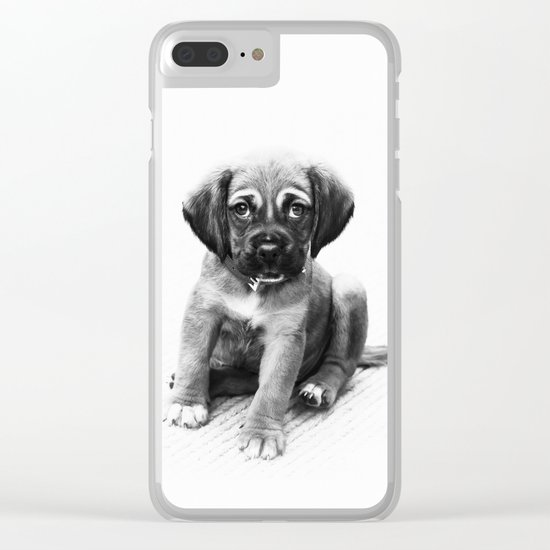 Little dog Clear iPhone Case