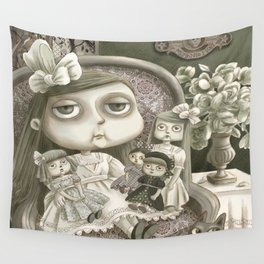 Miss Prudence Perkes Wall Tapestry