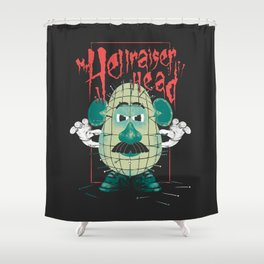 Mr. Hellraiser Head Shower Curtain
