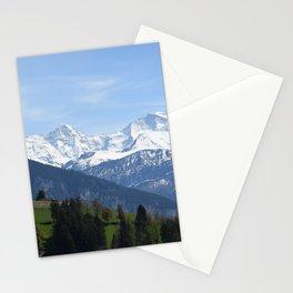 Eiger Bernese Oberland Switzerland Stationery Cards