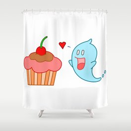 True love! Shower Curtain