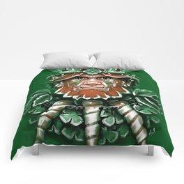 Wild Leprechan Comforters