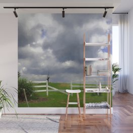 One Hot Summer Day Wall Mural