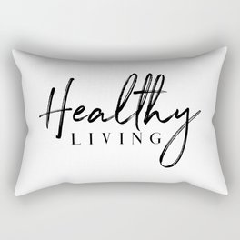 Healthy Living Rectangular Pillow