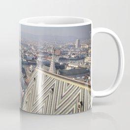 Vienna Cityscape from Stephansdom Coffee Mug