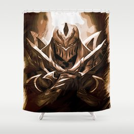 League of Legends ZED Shower Curtain