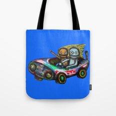 A trip by car Tote Bag