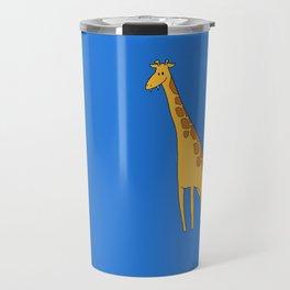 Vampire Giraffe Color Travel Mug