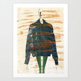 Oversize Denim Art Print