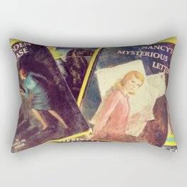 A Pile of Drews Rectangular Pillow