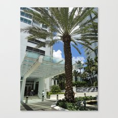 Fontainebleau Hotel- Miami South Beach Canvas Print
