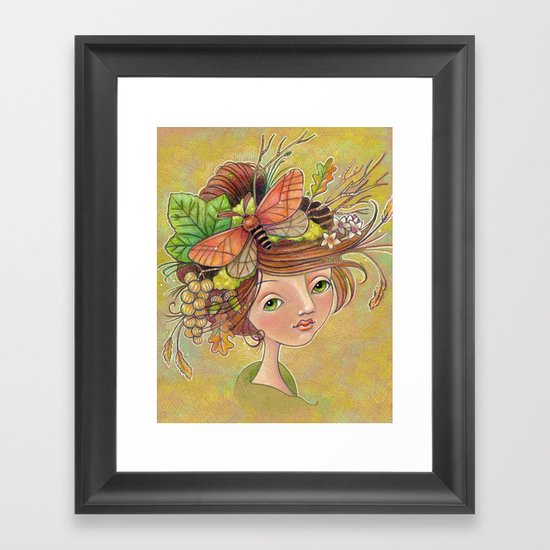 Forest Glories Framed Art Print