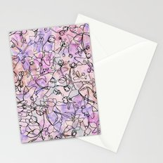 Scattered Floral Stationery Cards