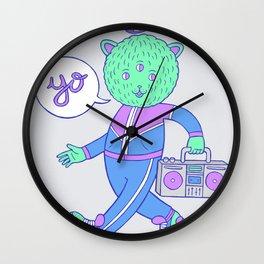 yo! Wall Clock