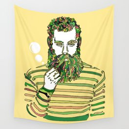 Sea Wolf Ghost (Yellow Version) Wall Tapestry