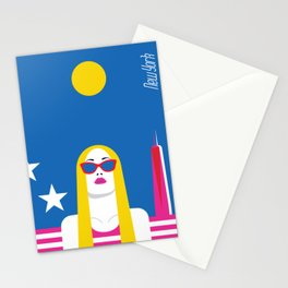 Stylish Journey - New York Stationery Cards