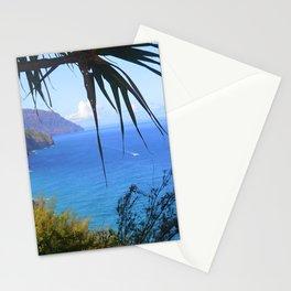 Glimpse of Na Pali Stationery Cards