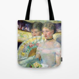 Mary Cassatt The Loge Tote Bag