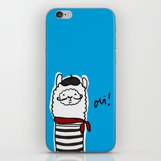 French Alpaca iPhone & iPod Skin