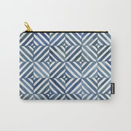 Square Stripes Carry-All Pouch