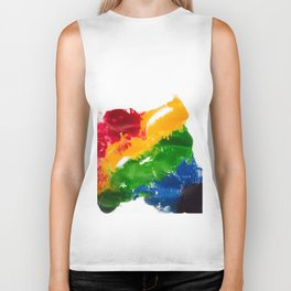 I bleed rainbows I Biker Tank