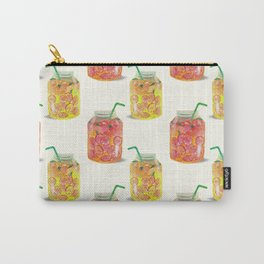 Smoothie glass jar pattern Carry-All Pouch