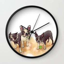 Bubba, Spanky & Figgy Wall Clock
