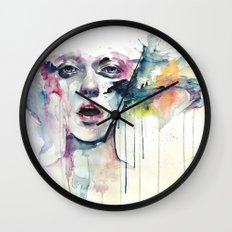 learn to bloom Wall Clock
