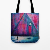 portal Tote Bags featuring Portal by Sylwia Borkowska