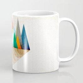 074 - Autumn leaf minimal landscape II Coffee Mug