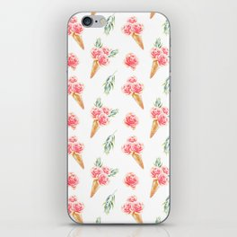 Floral Chill Rose iPhone Skin