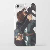 stucky iPhone & iPod Cases featuring Dammit Steve by MMCoconut