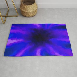 Ultra Violet Beams Captured by a Black Hole Rug