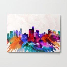 Durban Skyline Metal Print
