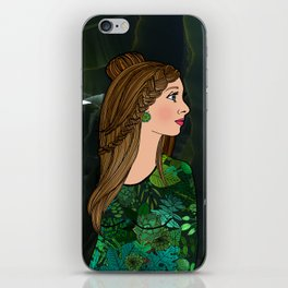 Bibi and the Botanic Garden iPhone Skin