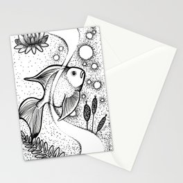 Little Fish, Big Pond Stationery Cards