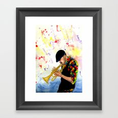 The Colors of Jazz Framed Art Print