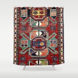 Karabagh Antique Azerbaijan South Caucasus Rug Print Shower Curtain