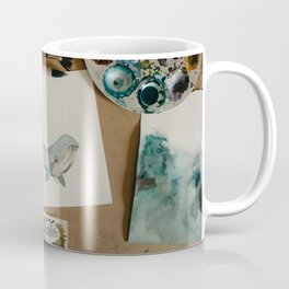 Watercolor Whale Coffee Mug