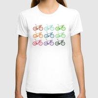 racing T-shirts featuring Racing bicycle by Fabian Bross