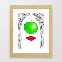 My Apple P-eye Framed Art Print