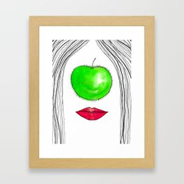 My Apple P-eye Framed Art Print